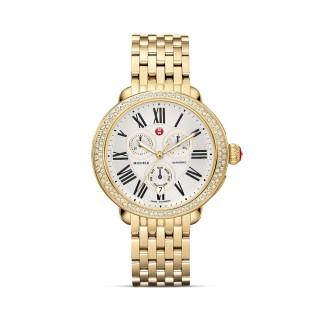 Serein 16 Gold Diamond, Diamond Dial Watch