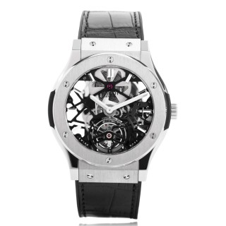 Hublot Watches - Classic Fusion 45mm Skeleton Tourbillon
